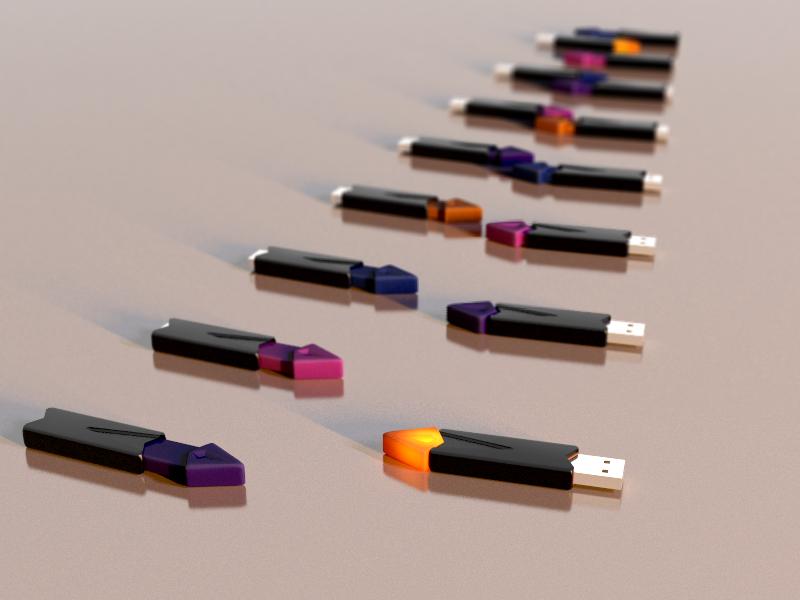 USB Drive Digital Model