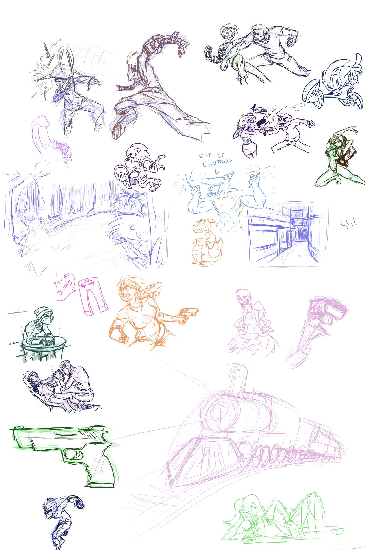 Stream Doodles - 4