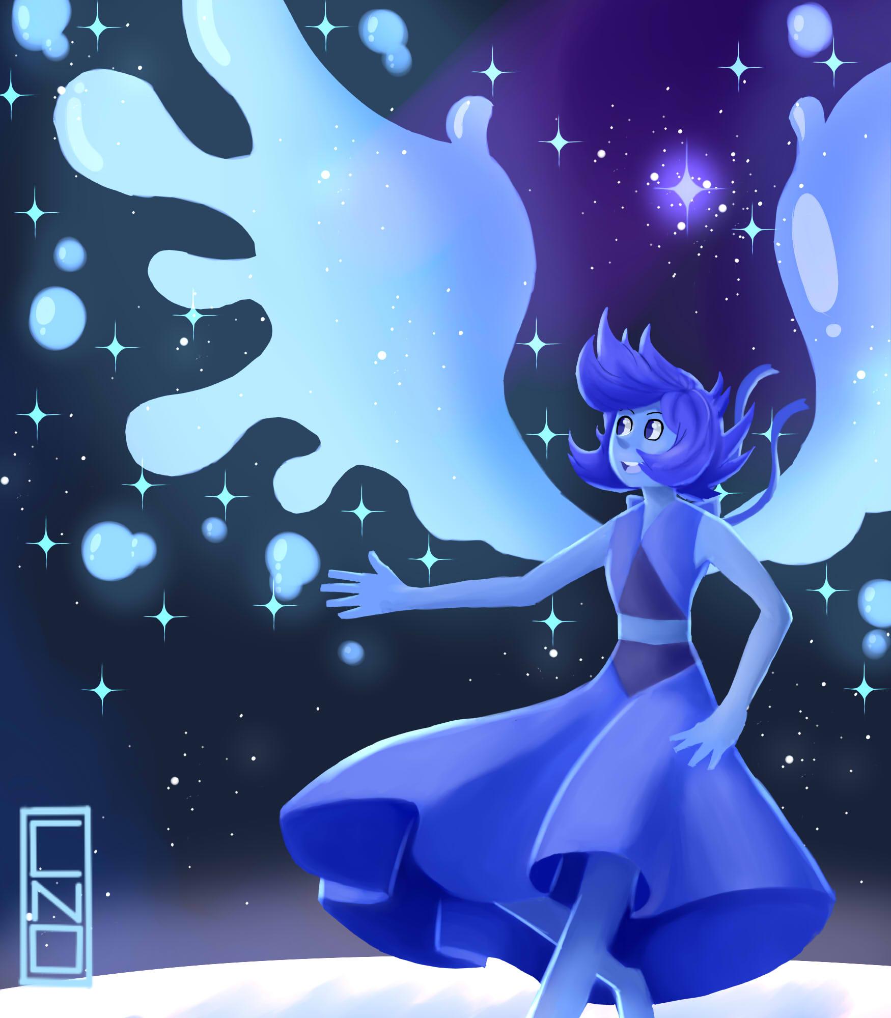 Lapis Lazuli- water wings