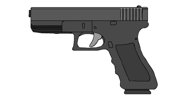 Glock-18 - Mouse Drawing