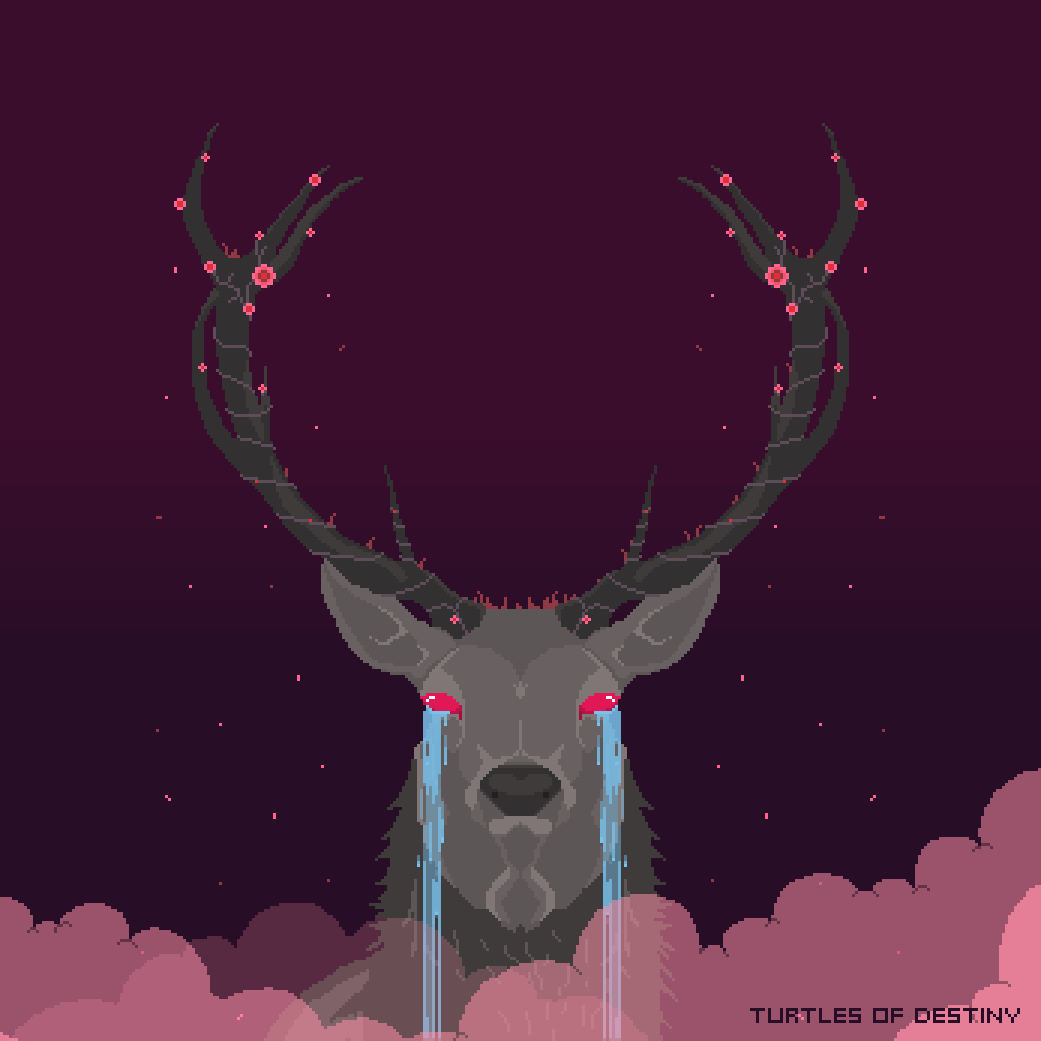 Mournful Stag