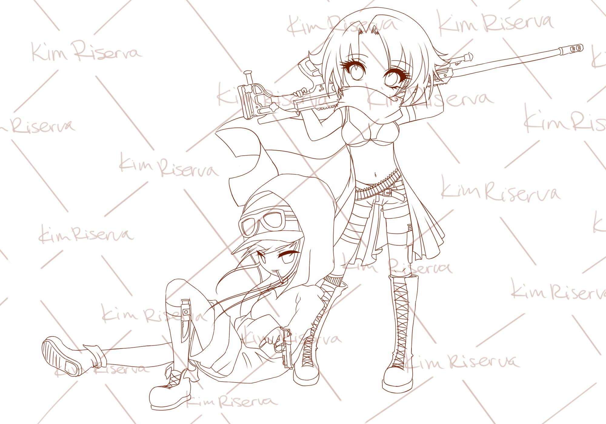 Sniper (Line art)