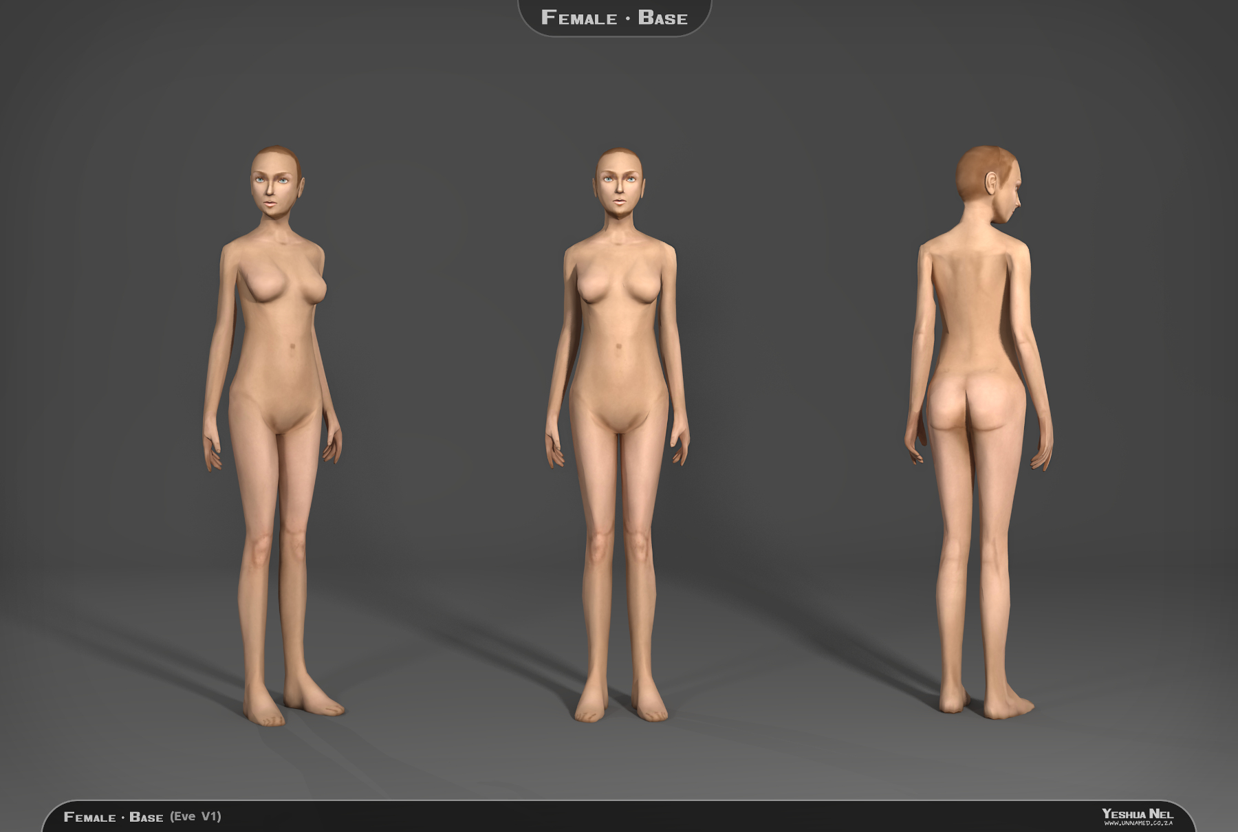 3d model female sexy photo