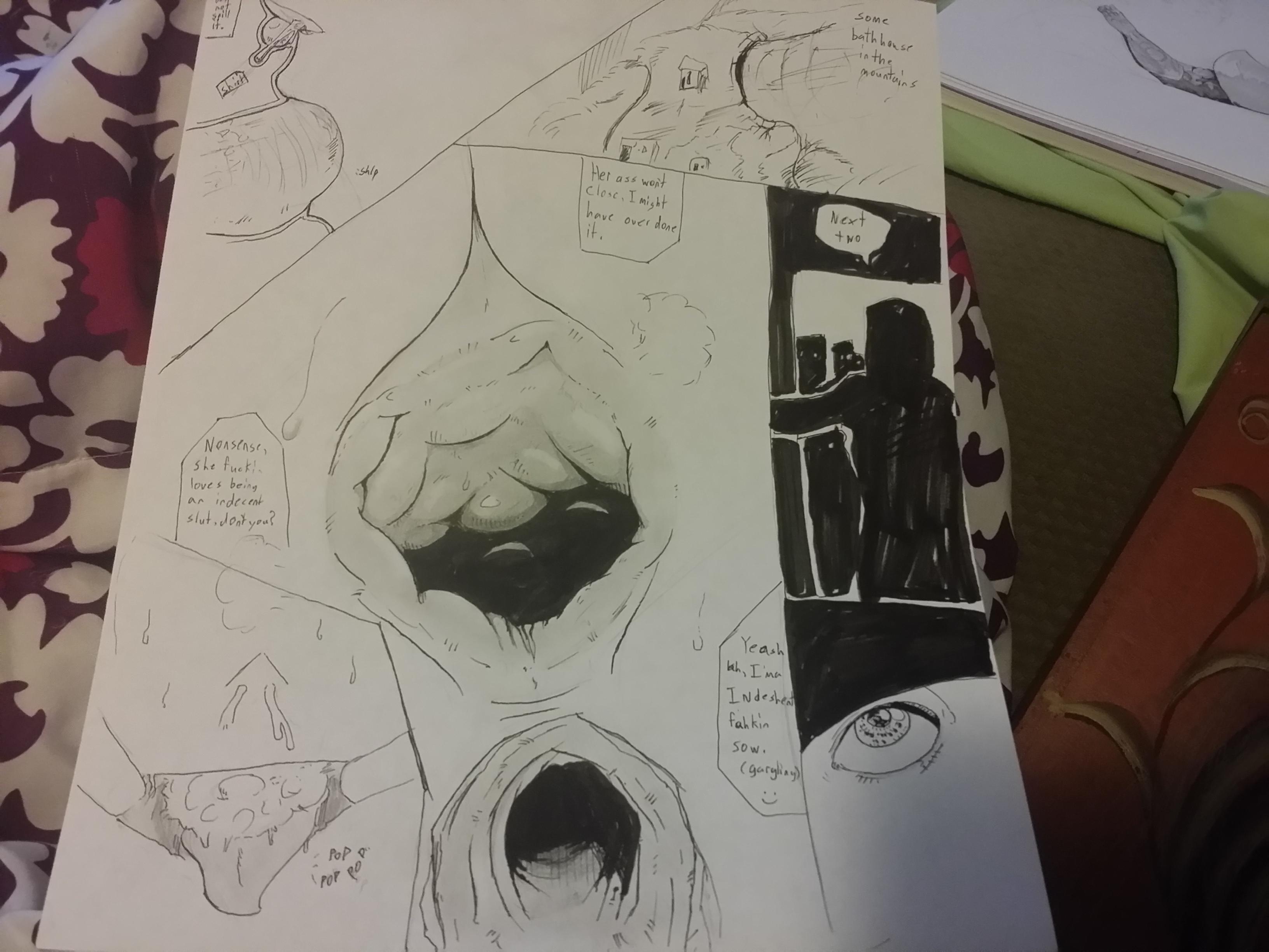 my atempt at a comic p