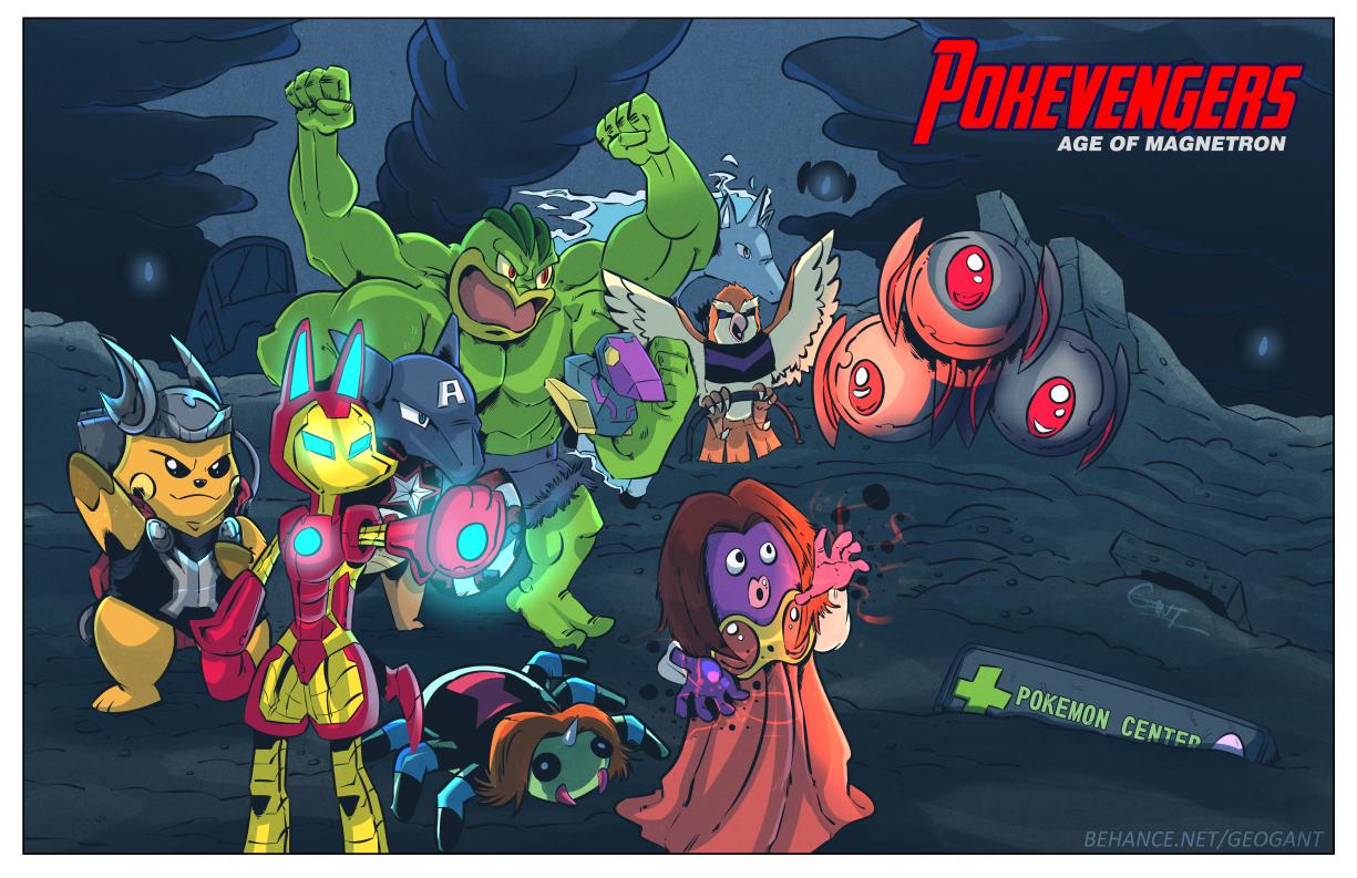 Pokevengers: Age of Magnetron