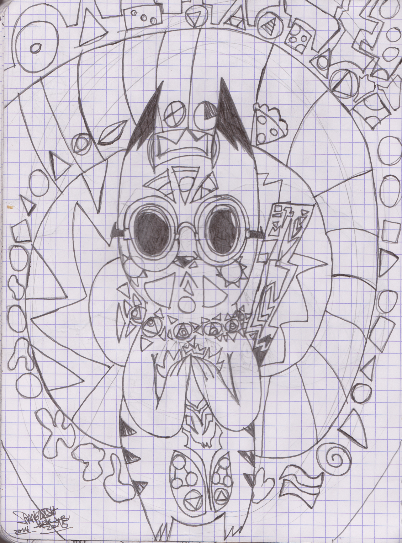 SH sketchbook page 35