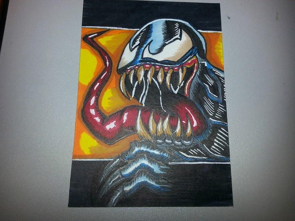 Venom Sketch Card