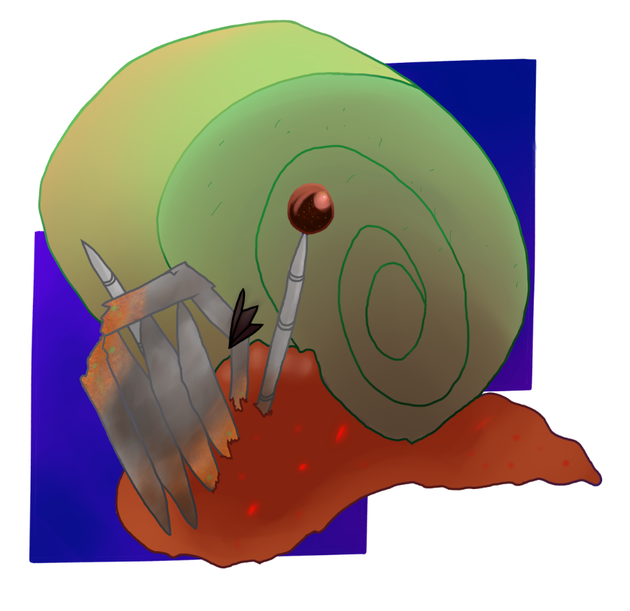 Oxidated Snail