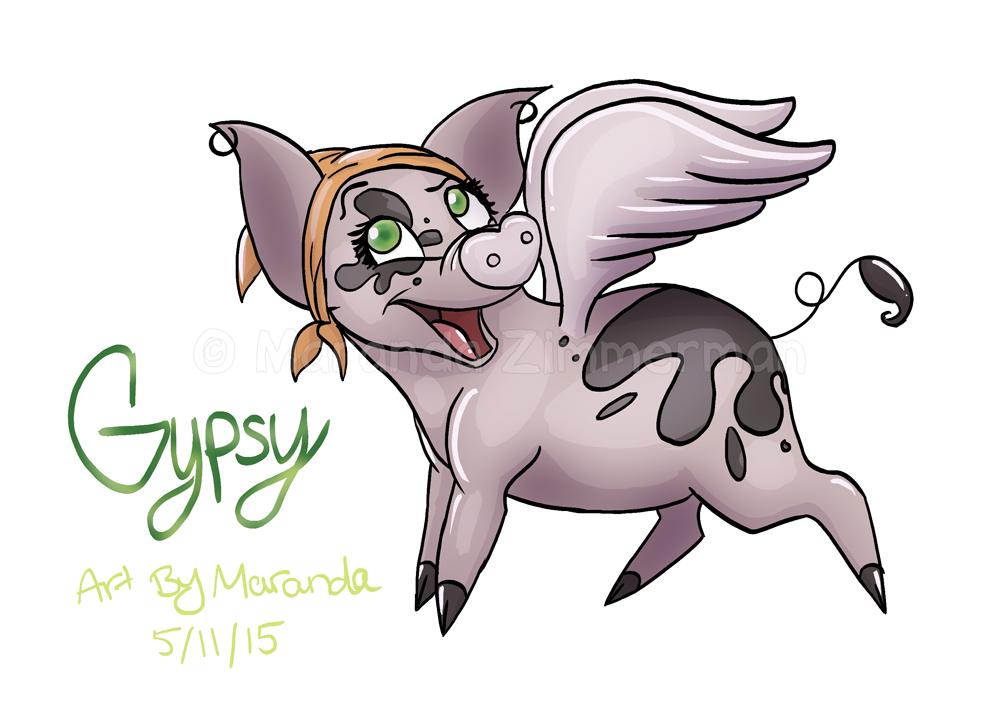 Gypsy The Flying Pig
