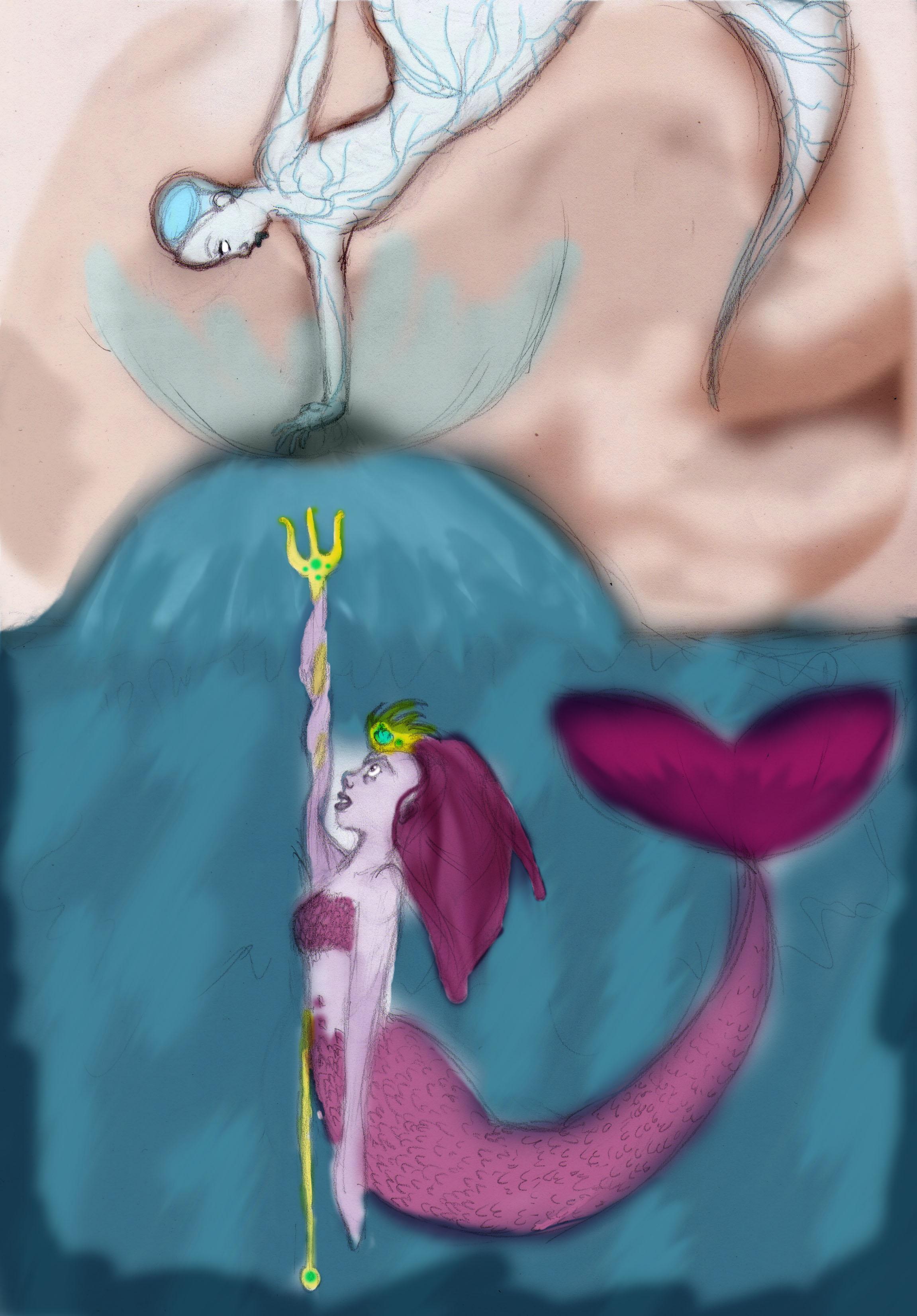 apocalipse mermaids battle
