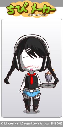 Slender Waitress