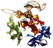 Pankapu and his three Aegis