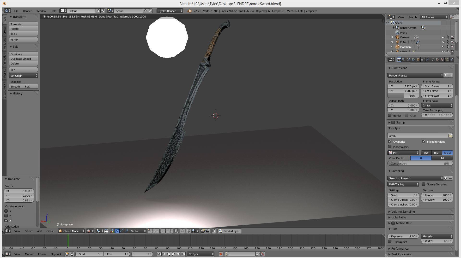 Nordic Sword