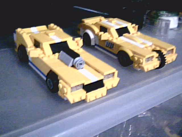 Lego Trans AM 20000 (Redline)