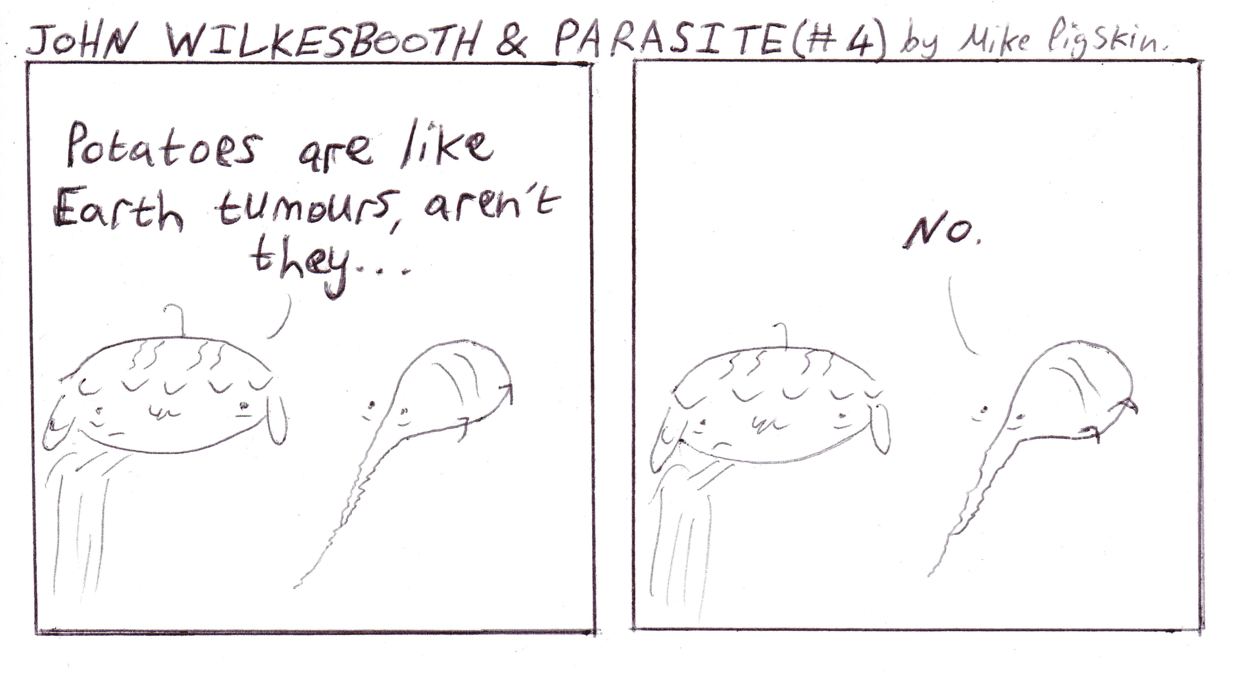 John Wilkesbooth & Parasite #4