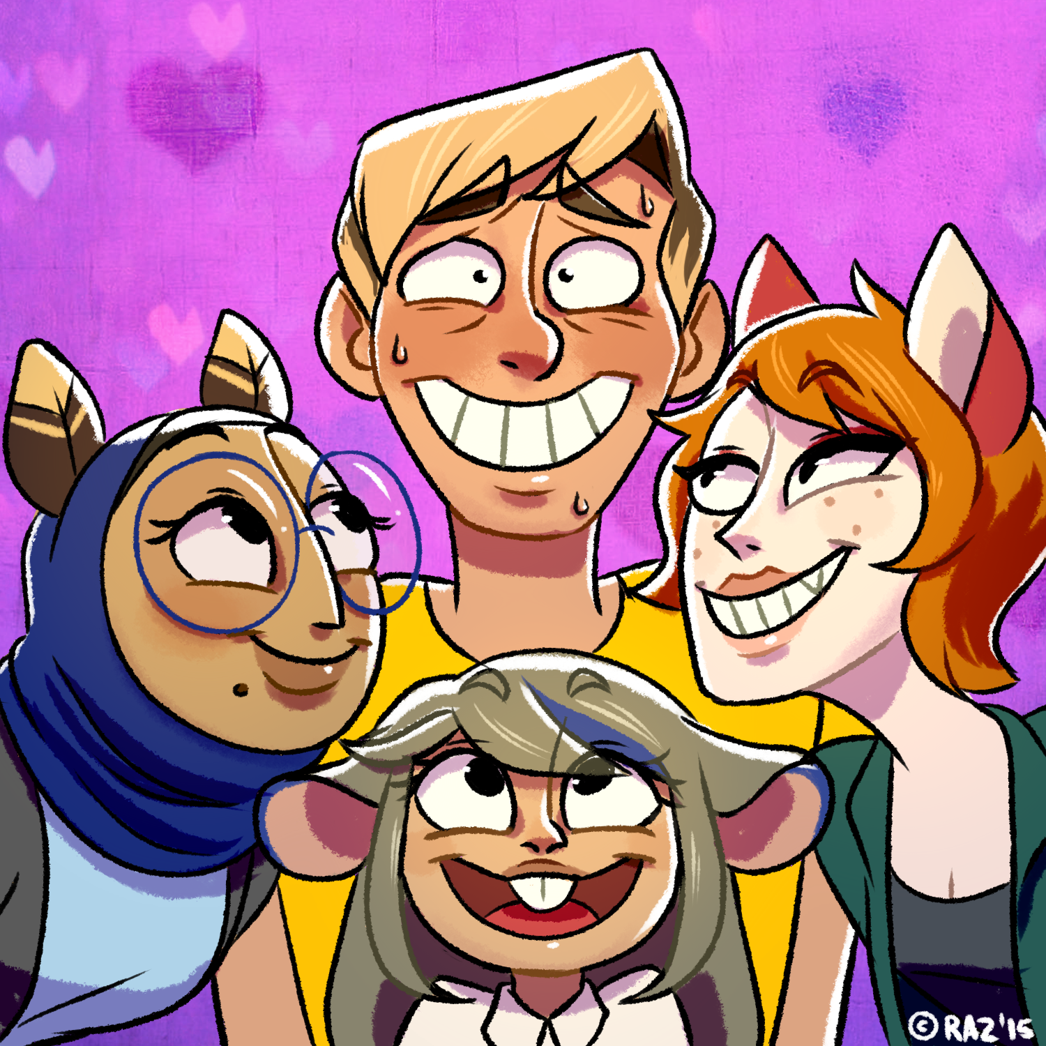 A Guy and His 3 Girlfriends