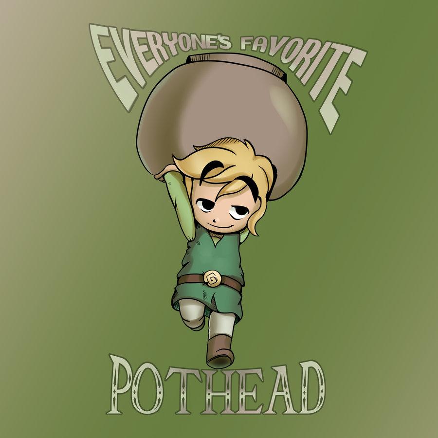 Diabolical Pothead Toon Link!