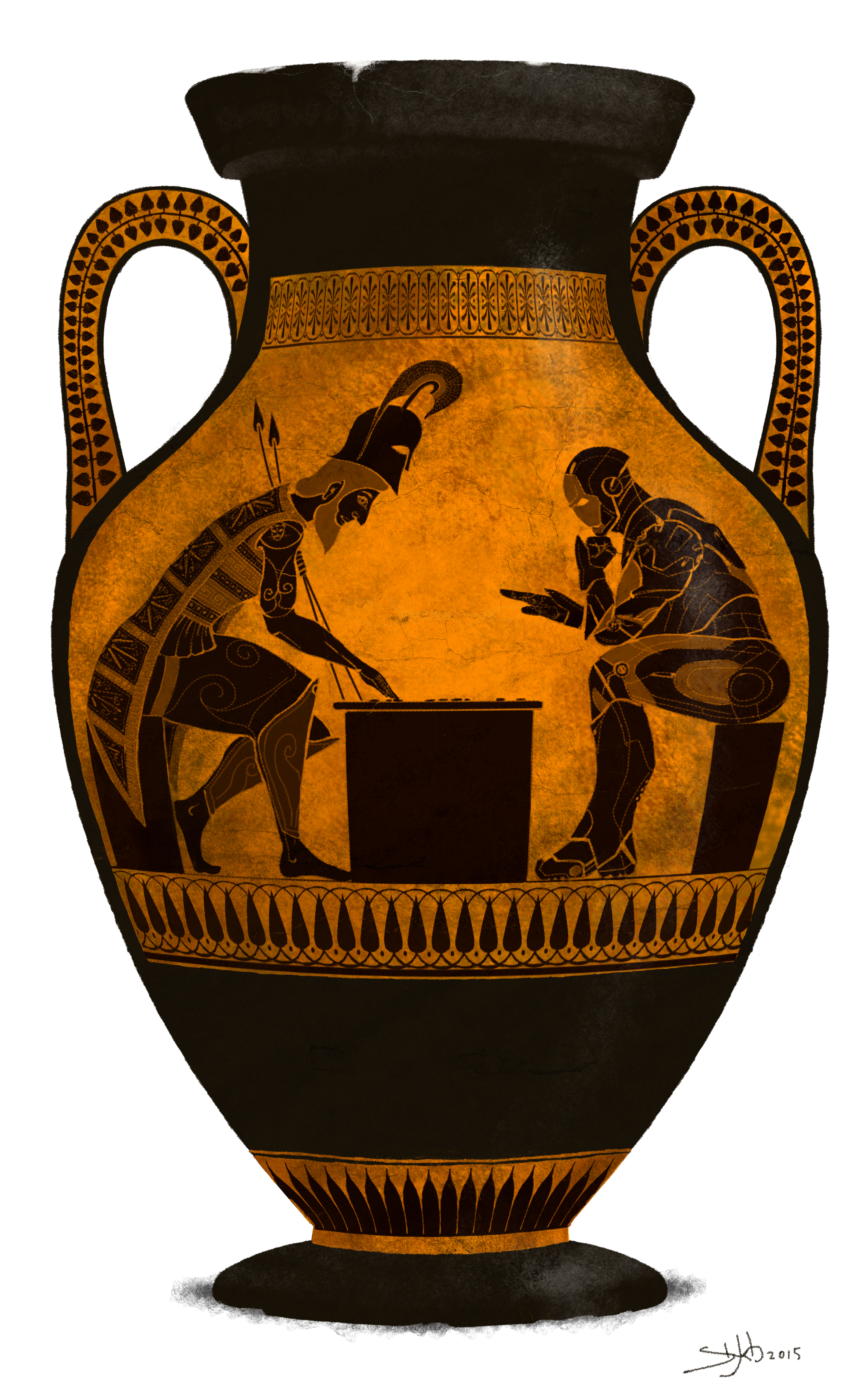 Prediction on vase