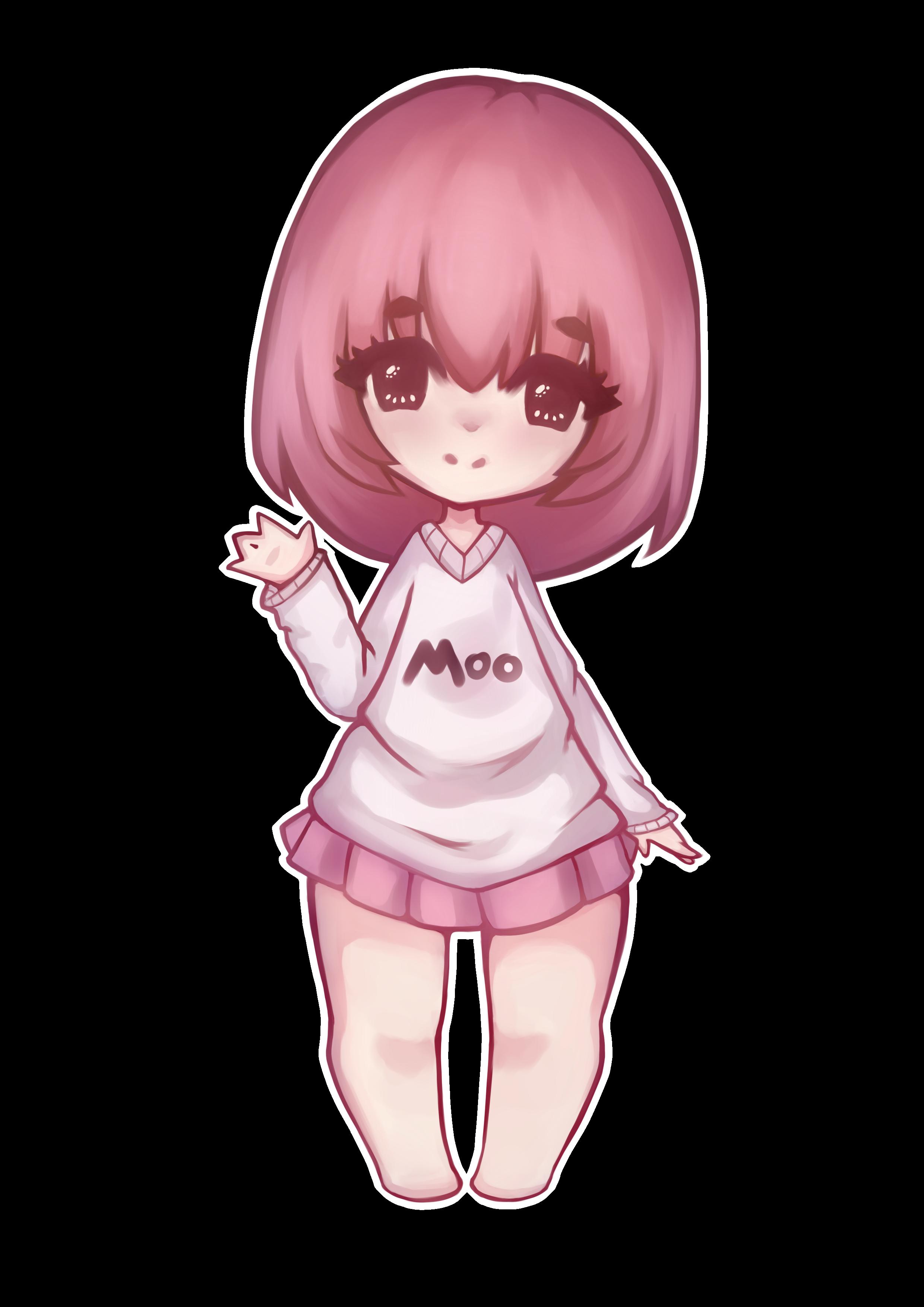 Moo! [Fanart for MissMoonica]