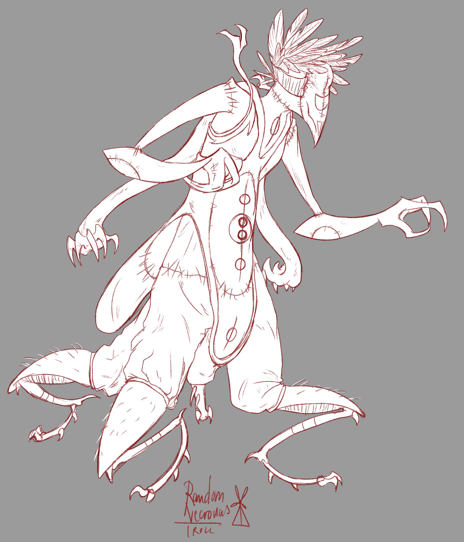 Necrovius Creature Design