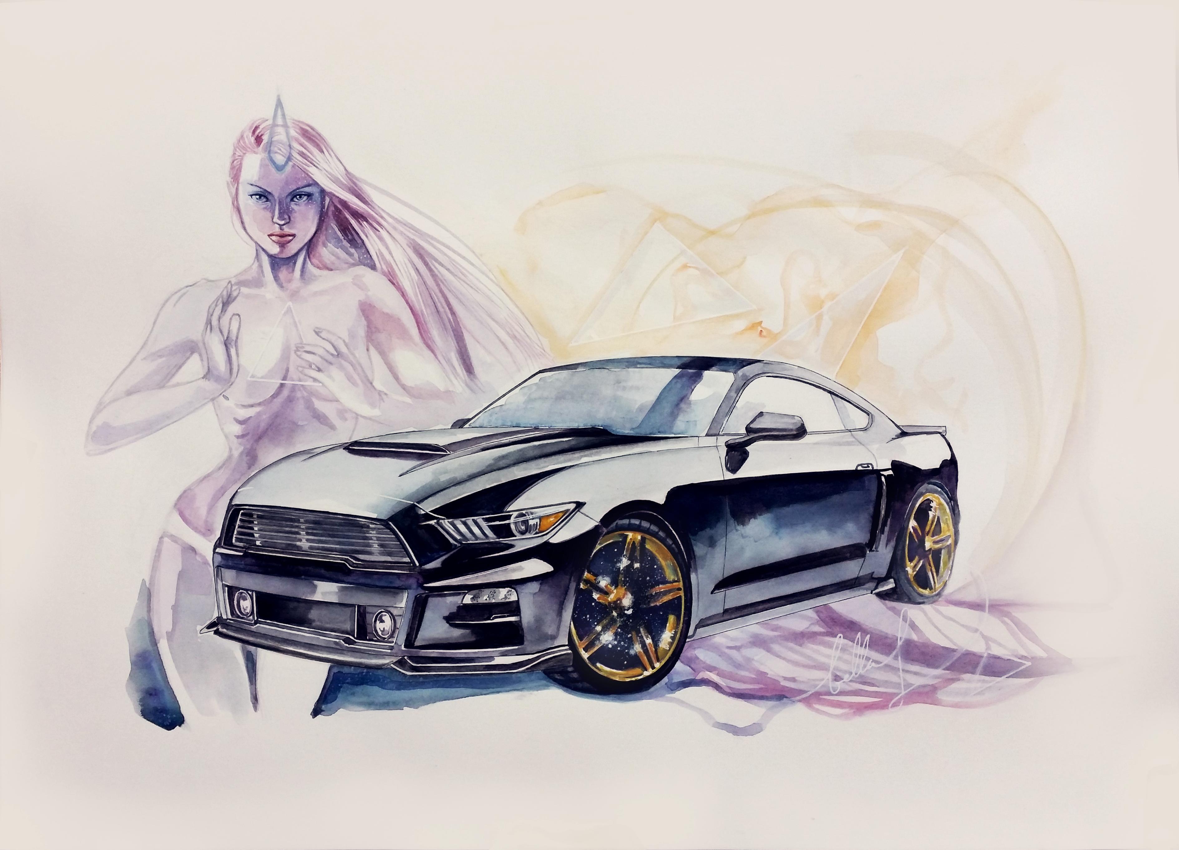 Fantasy Mustang