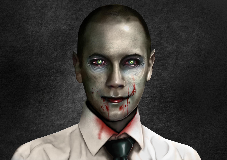 The Gentleman Gamer Portrait