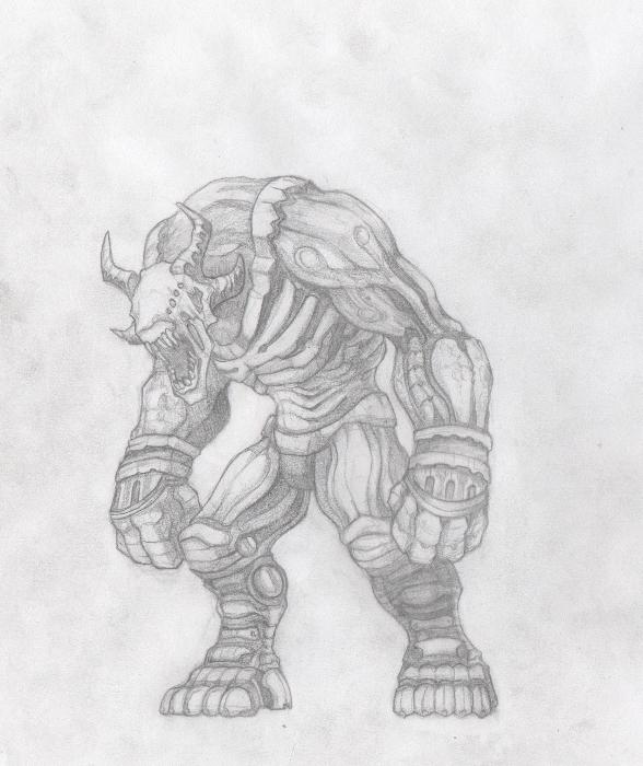 Brute demon
