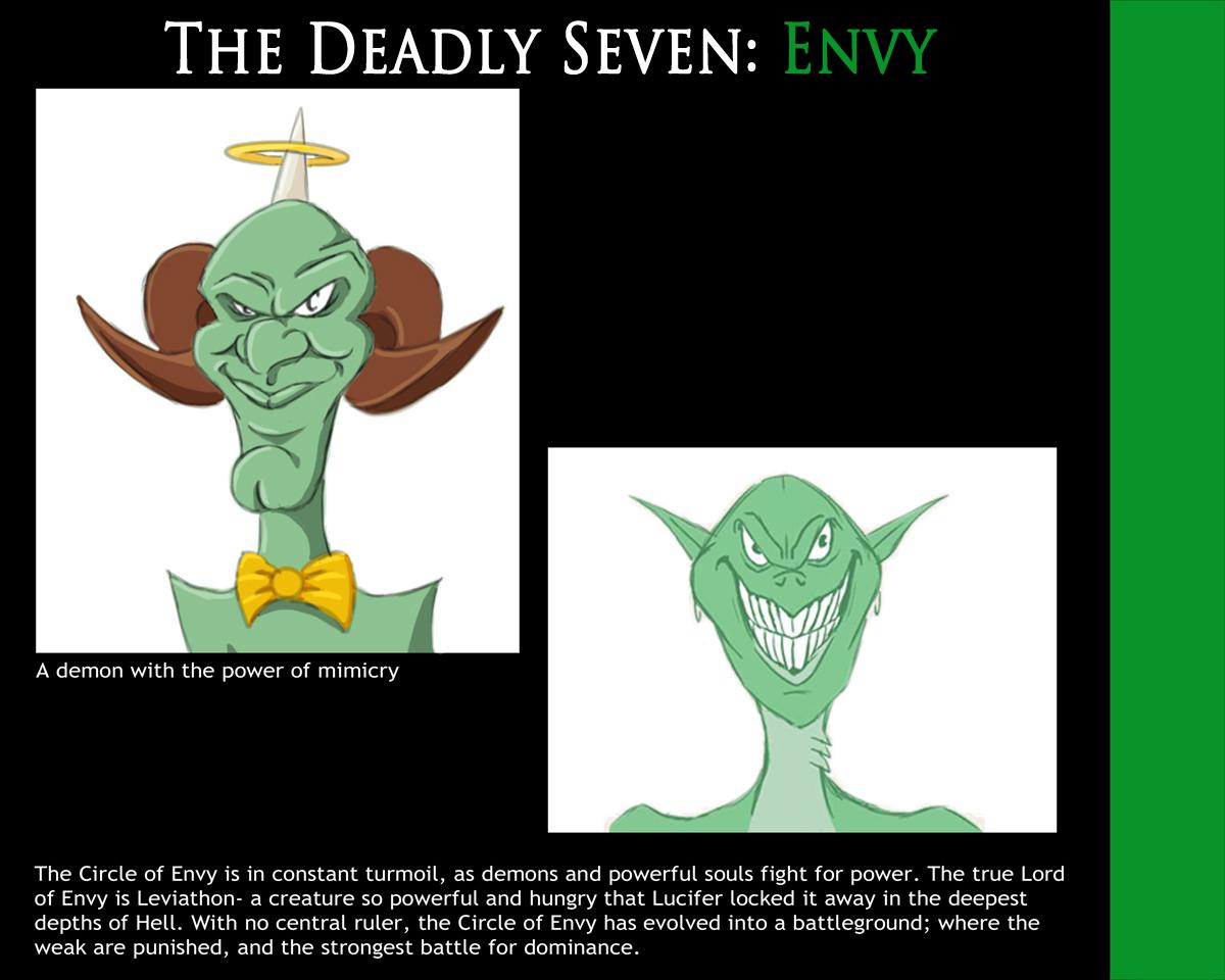 Deadly Seven: Envy