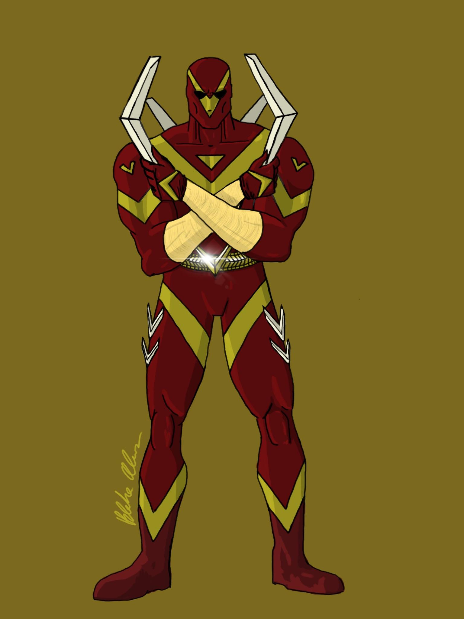 My version of Captain Boomerang