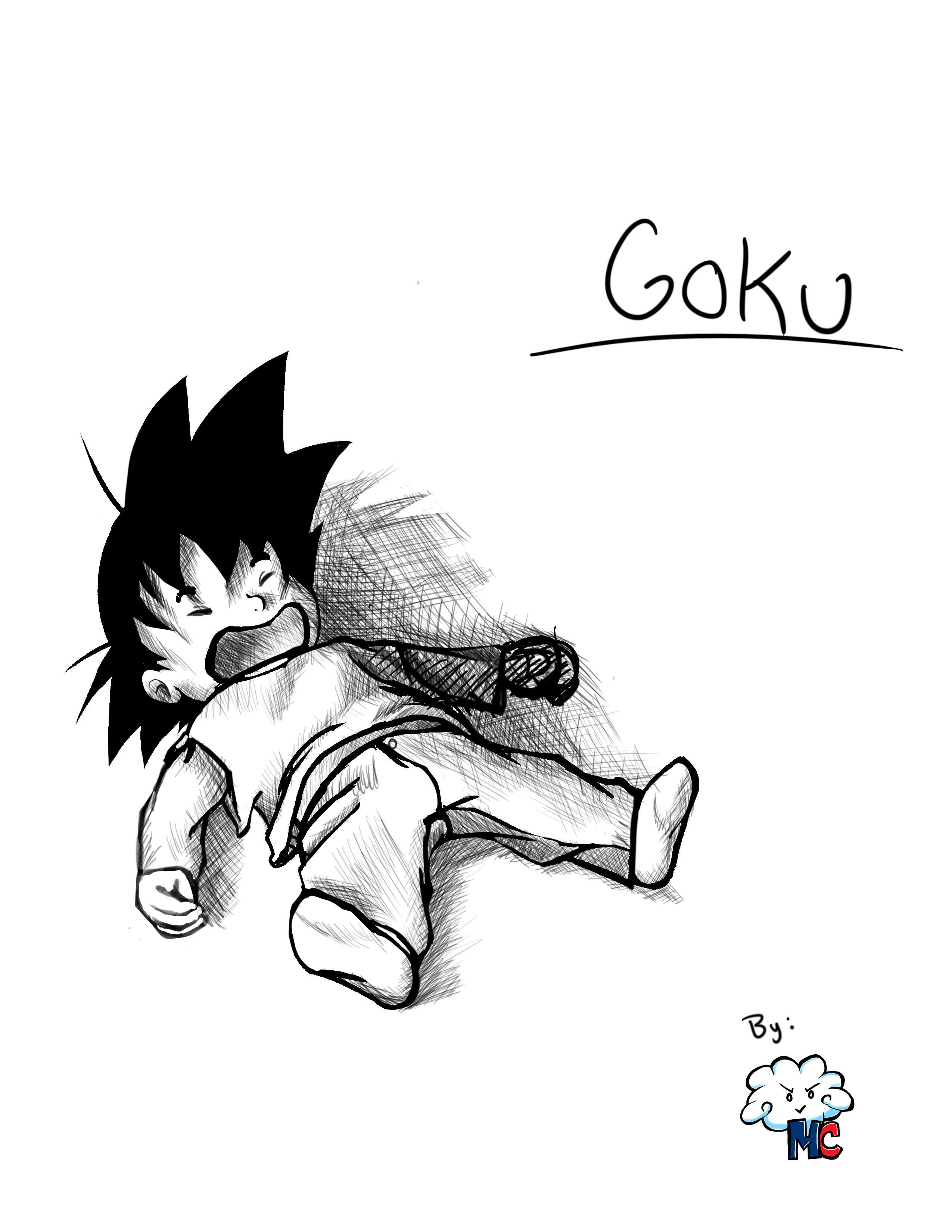 Goku(fan art)