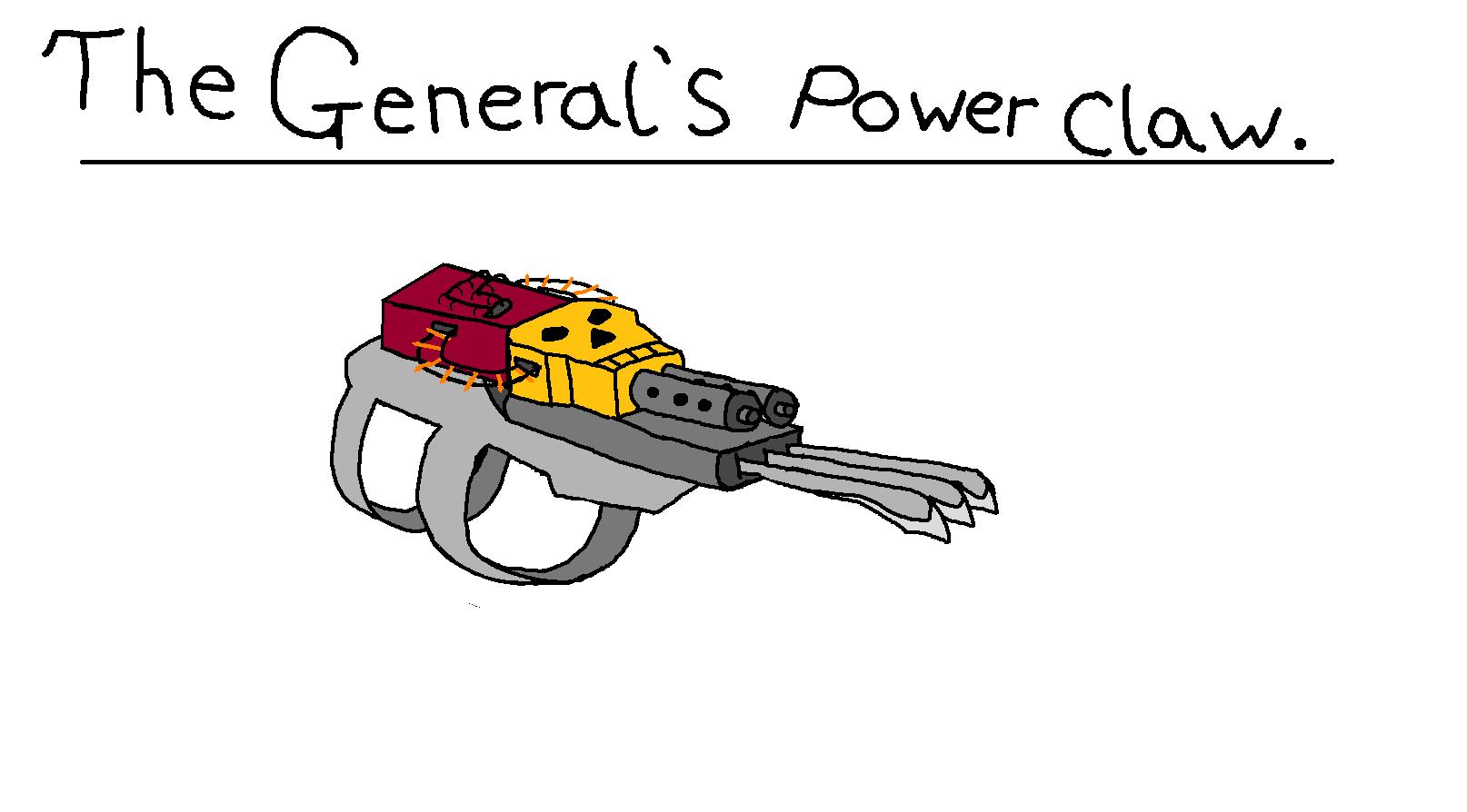 The General's Power Claw
