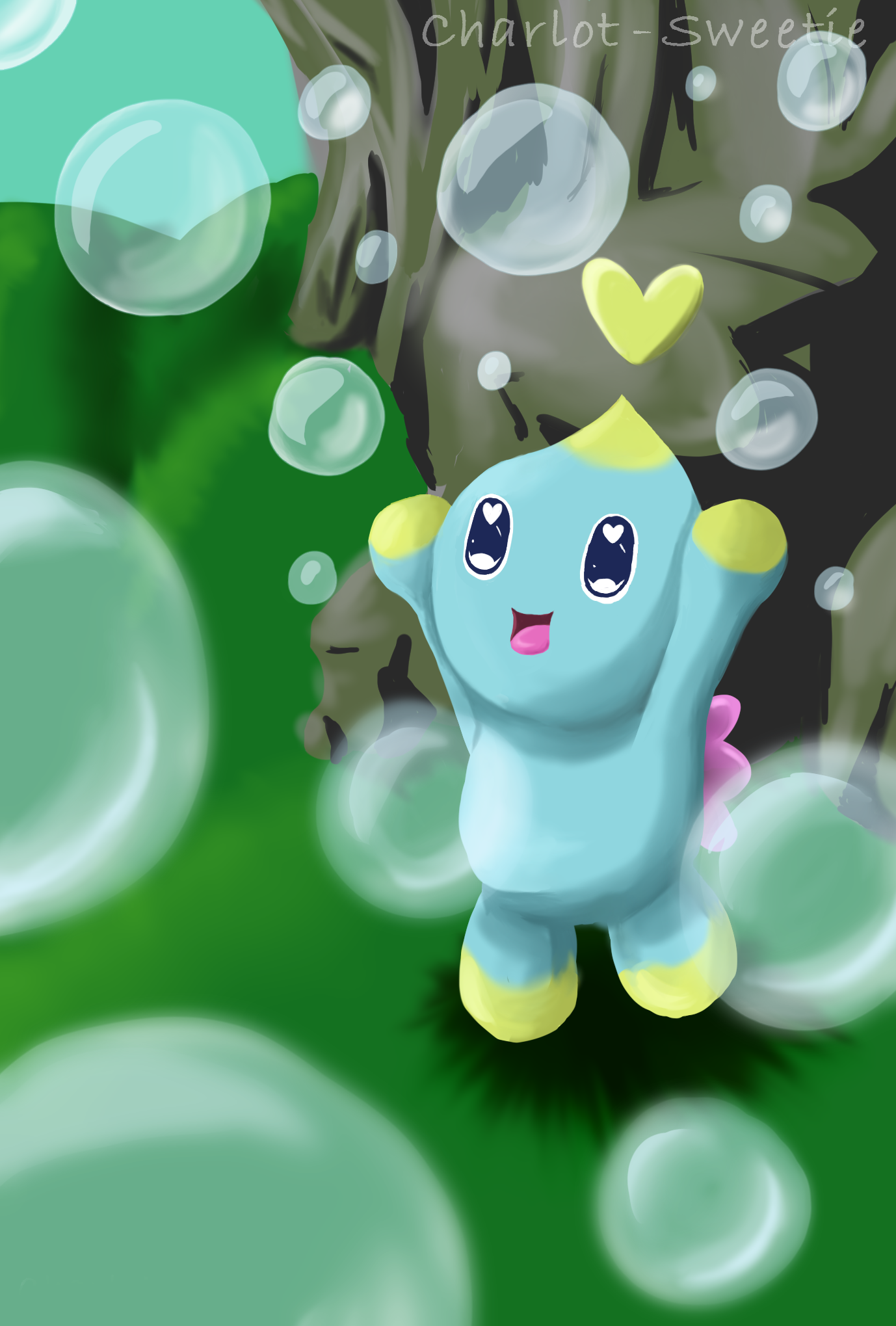 A Chao with Bubbles