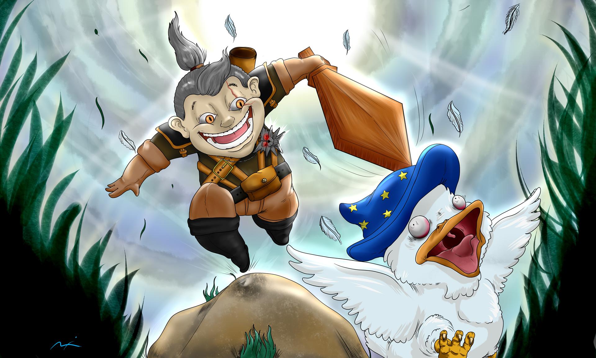 Geralt of Rivea - AgeSwap