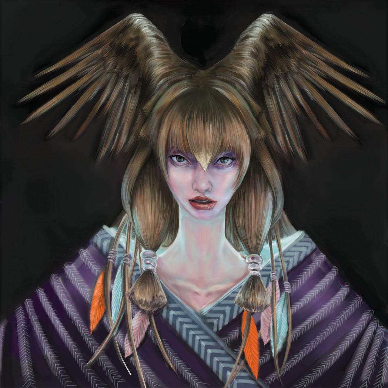 Tribal Shaman Fantasy Art