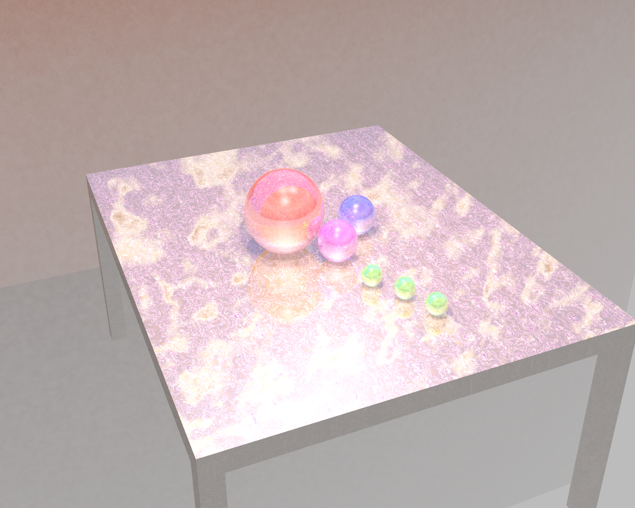Gloss Table Concept Render