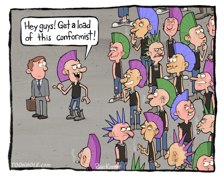 Don't conform!