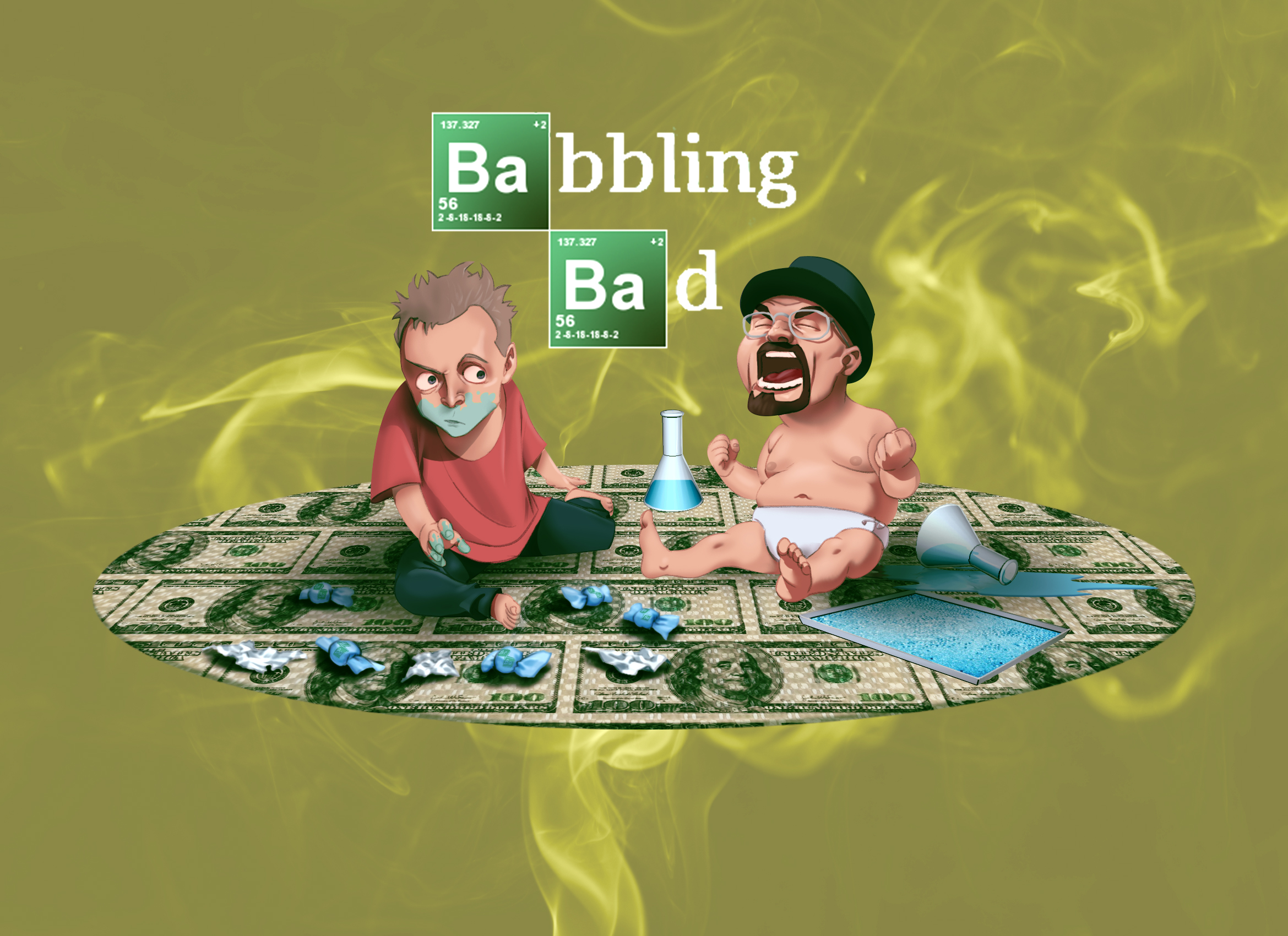 Babbling Bad AGESWAP - Jazza's Challenge of the Month -