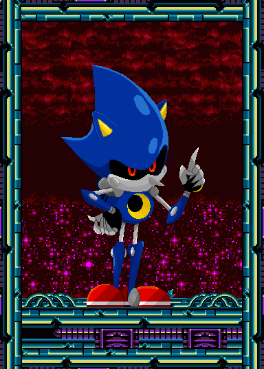 Metal Sonic Pixelart