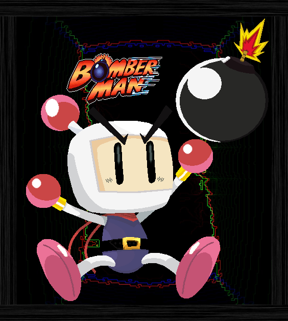 Bomberman Pixel Art