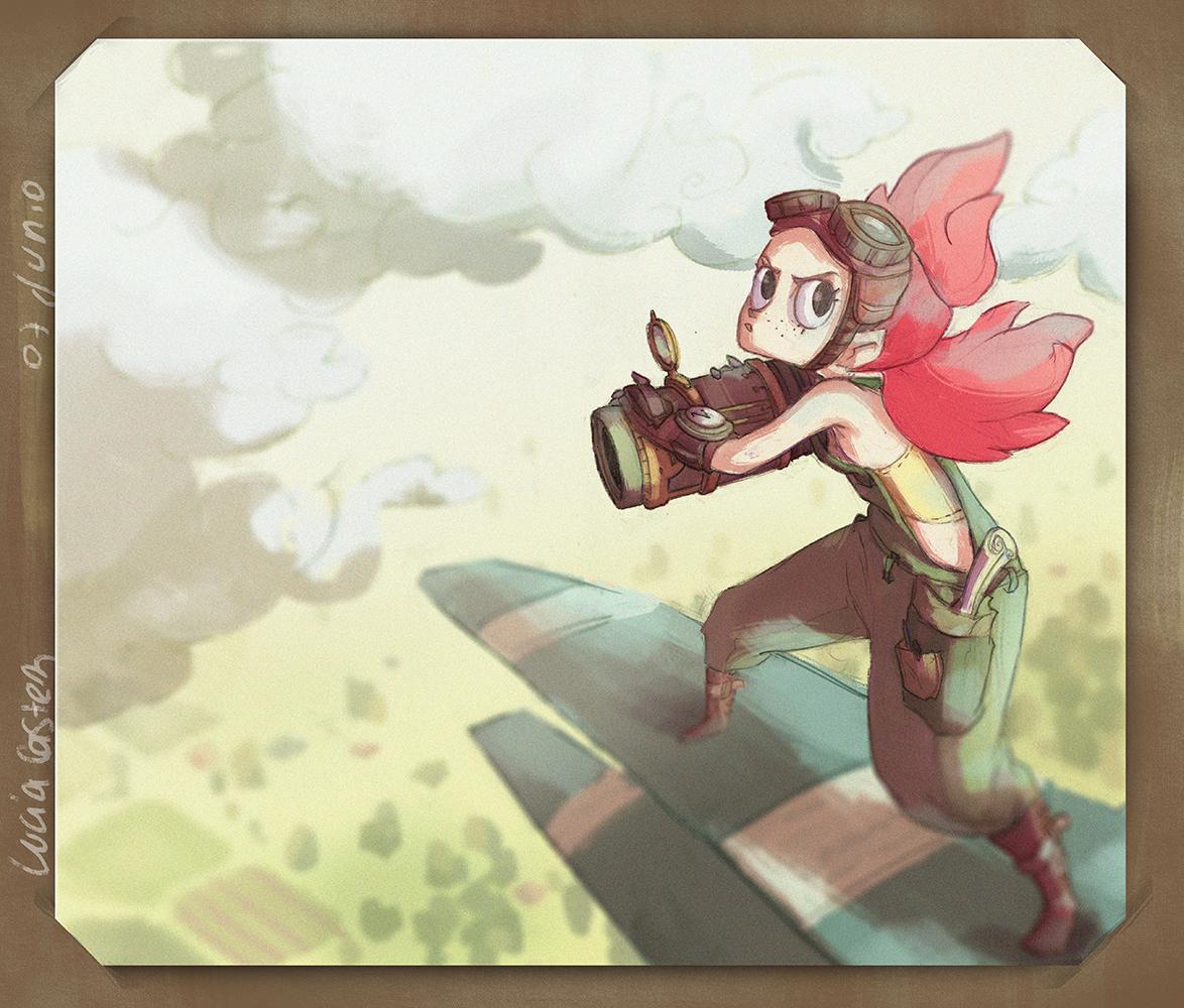 Steampunk explorer