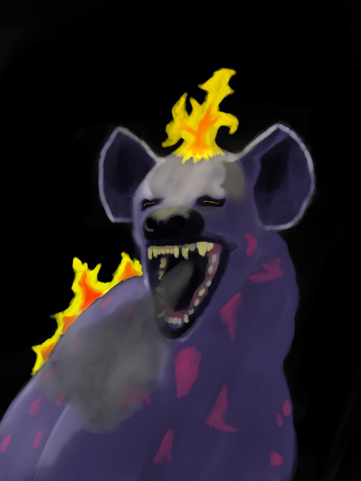 The Dread Smoke-Breathing Hyena
