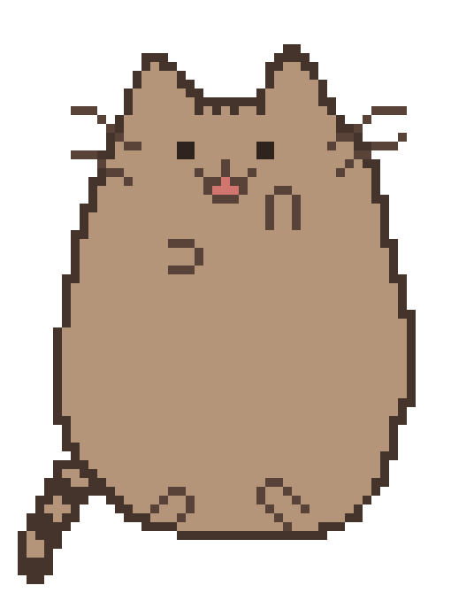 One of Those Facebook Sticker Cats