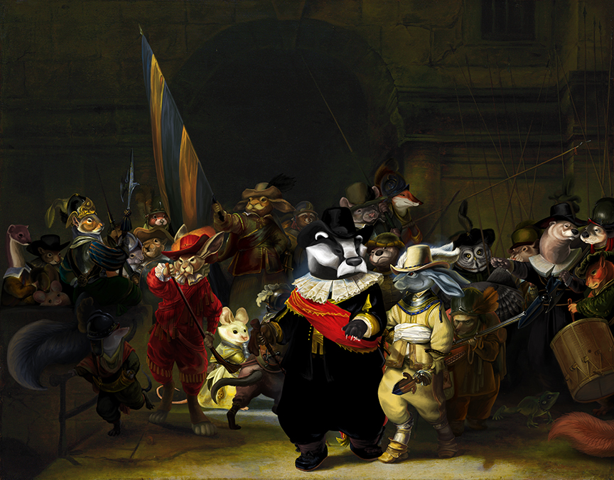 The Company of Captain Frans Badger...(Night Watch)