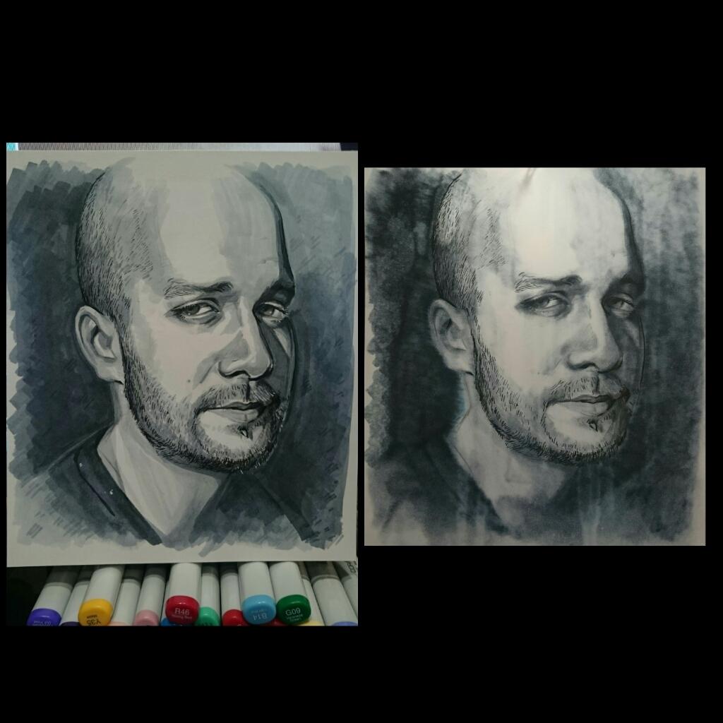 Stamper - Destroyed Portrait