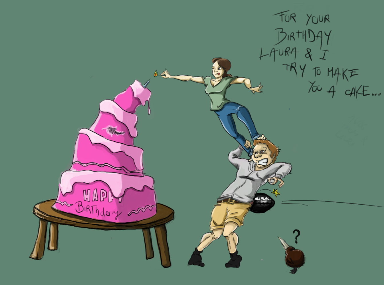 little sister's birthday