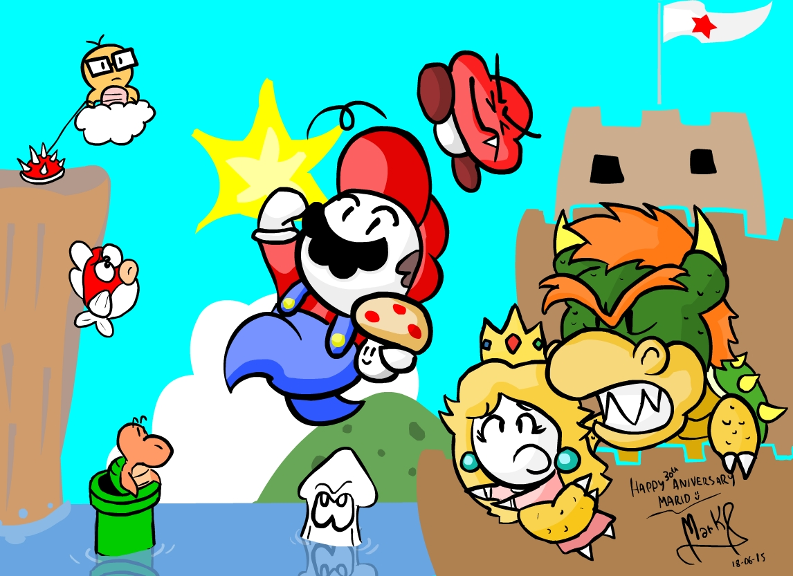 Let's Super Mario