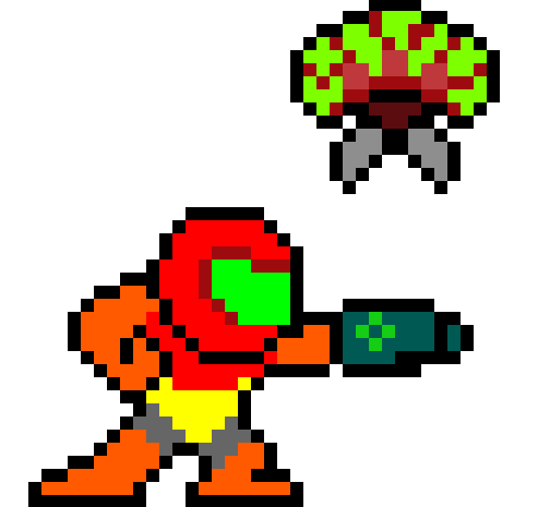 Megaman Style Samus