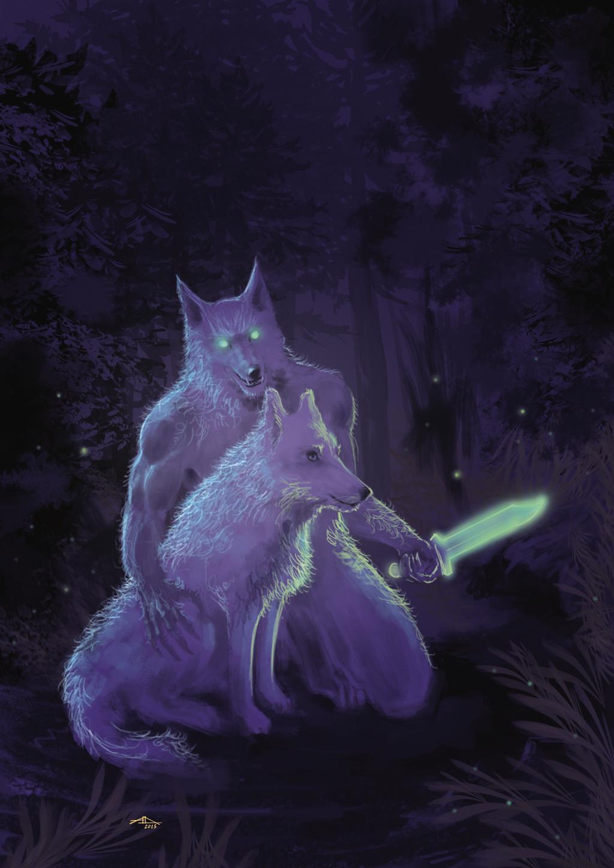 White Wolf and Semidori Wolf