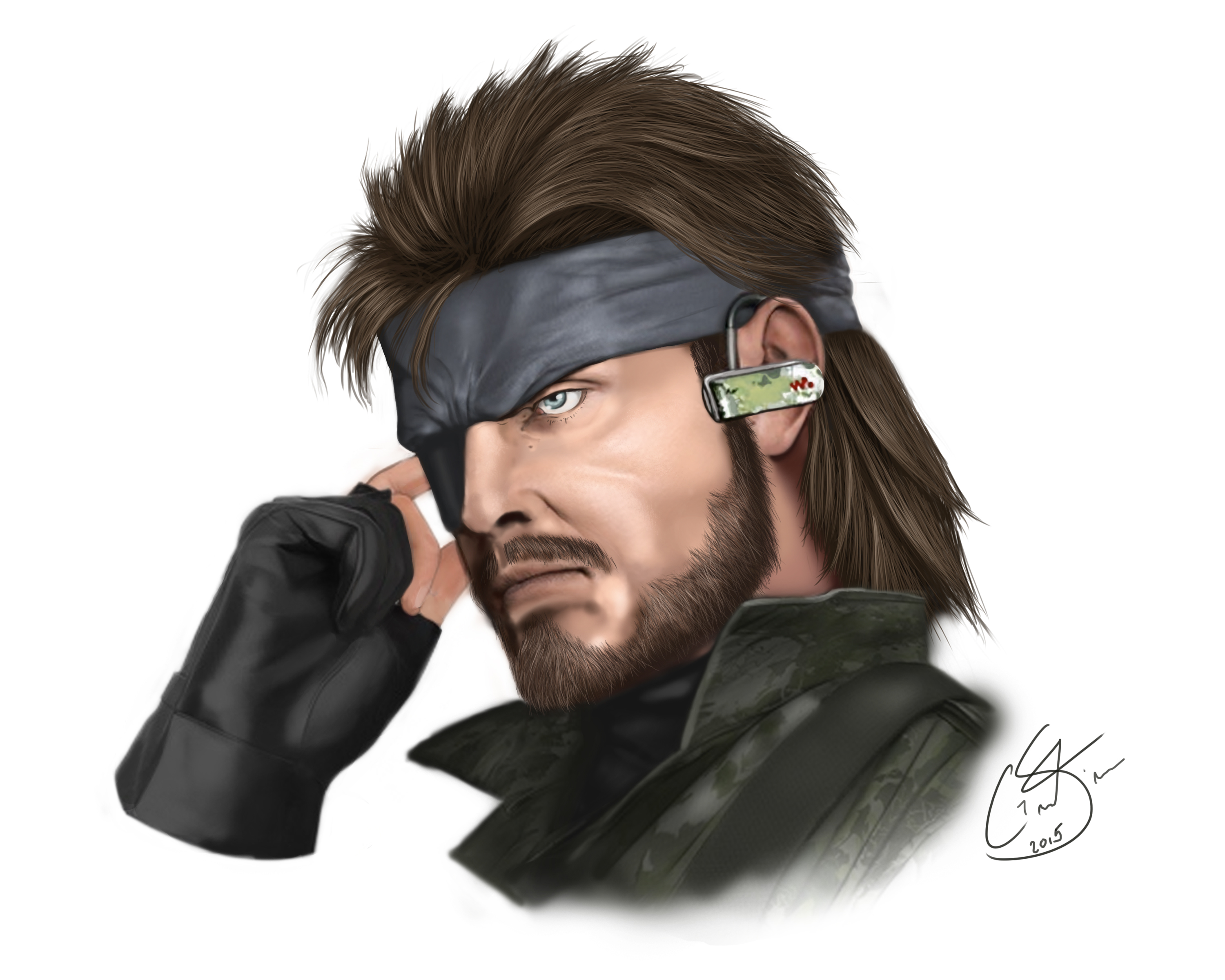 Big Boss fan art