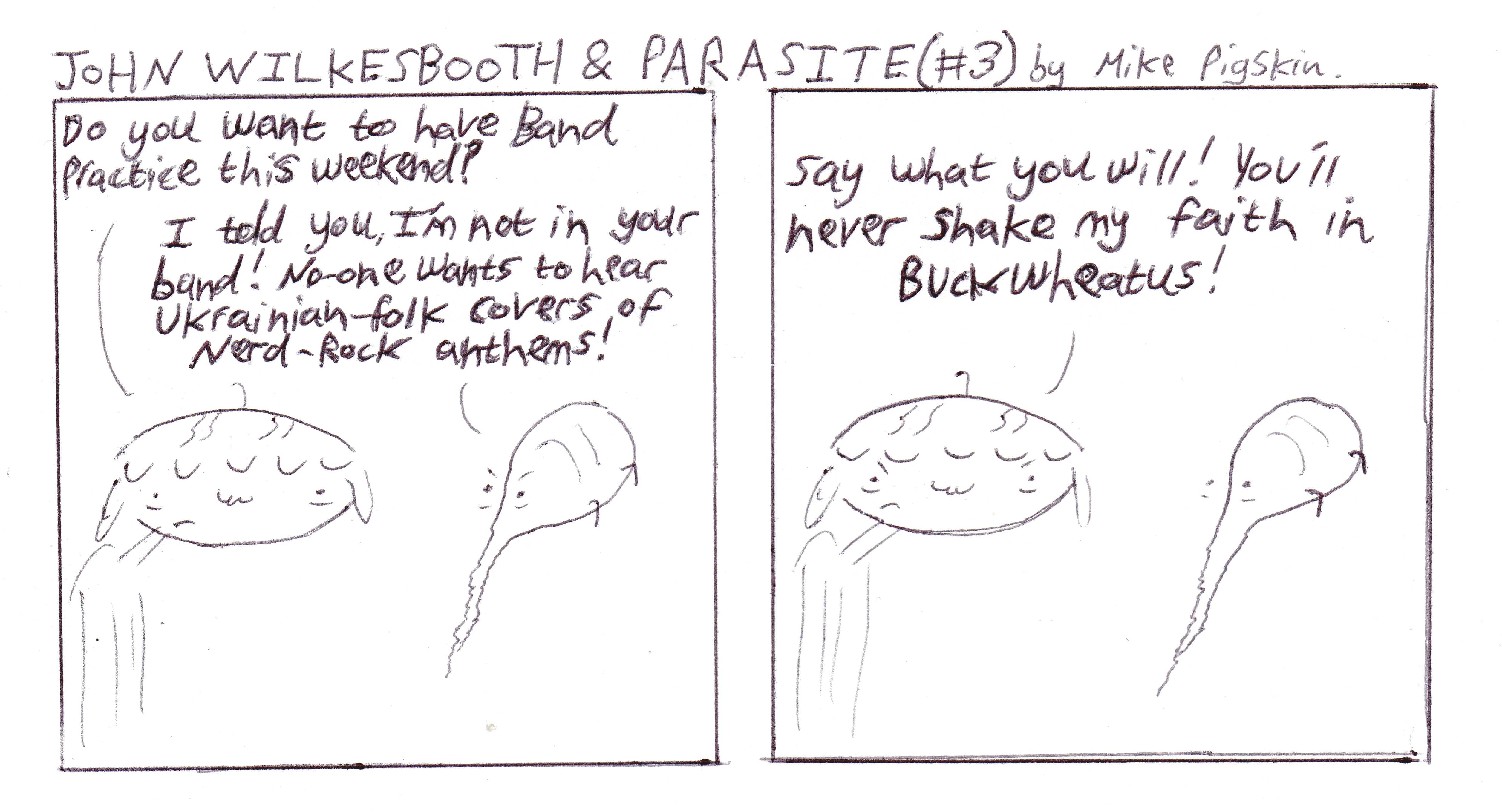 John Wilkesbooth & Parasite #3